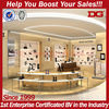 Luxury Brand New Wall Wooden Shoe Store Display Racks