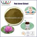 El estrógeno natural de trébol rojo p. E. Las isoflavonas, haccp de la fda kosher 8%- 40% hplc extracto de trébol rojo