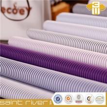 Stripe shirting uniform fabric the cotton/polyester cvc fabric