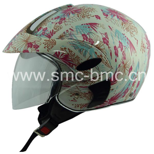 M208B vintage open face scooter helmet