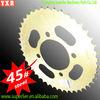 best quality c45 carbon steel motorcycle rear sprocket wheels
