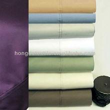 600 thread count cotton rich solid color sheet set
