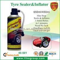 Car tire sealant;Car repair(after puncture)