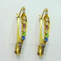 Jewelry Fashion Gold Earrings New Model 2013