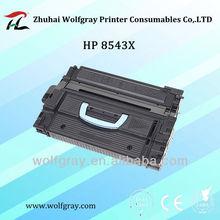 pezzi di ricambio per stampante hp compatibile cartuccia di toner 8543 8543x