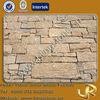 Natural yellow granite stone decorative wall covering panels