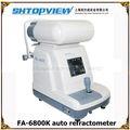 Color fa-6800k auto refractómetro keratometer de pantalla de colores en la clínica