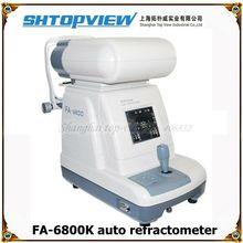 FA-6800K color auto refractometer keratometer colorful screen in clinic