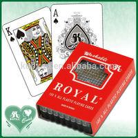 Royal Bridge Size 100% Plastic Playing Cards