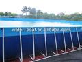 En son en sıcak satış tasarım stentler havuzu, popüler çelik çerçeve yüzme havuzları