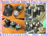 M3 m4 m5 m8 rubber mount component factory Vibration M damping mounts with galvanised oval base vibration absorbing mounts