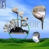 Good quality hot-sale golf oem golf club sets with pu bag