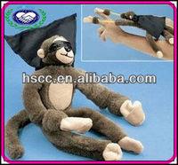 Wholesale Kids Plush Toys Funny Slingshot Screaming Flying Monkey