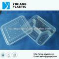 Desechables 4- compartimiento de contenedores caja de almuerzo