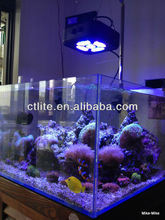 dimmable hot sale 90w aquarium fish bowl led lights with 3 independent channels