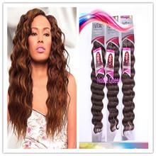Wholesale Noble Queen Hair 100% Unprocessed 5A Virgin Human Hair Extension Packing, Deep Wave Peruvian Hair 100g/pack
