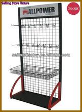 Floor Standing Sports Display Rack
