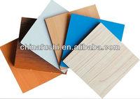 Coloured Melamine MDF Wood Sheet