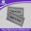 2014 high quality garment woven label,damask woven label,taffeta clothing label