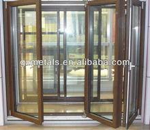 made in china simple design glass elegant inner aluminum doors