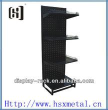 floor display case / floor metal hook display stand / floor stand display stand HSX-S201