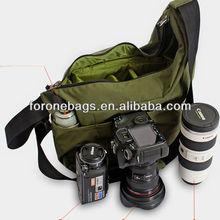 fashion nylon dslr digital shoulder camera pouch bag