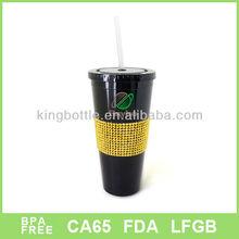 NEW Design stone straw mug,Cooler mug, Coffee mug