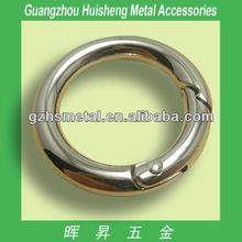 Fashion handbag anti metal round spring rings