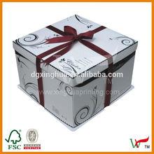 Birthday Cake Paper Packing Box