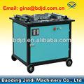 Gw40/gw50 varilla de acero dobladores/de barras de refuerzo de flexión de la máquina