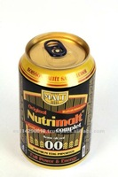 Malt NUTRIMALT Dark Beverage 0.0% canned 24x33cl