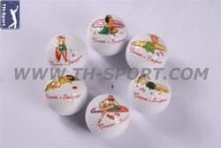 Fashion unique electroplating golf balls