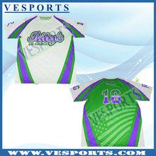 custom design good quality softball shirts