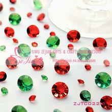 Table Acrylic Diamond Confetti Crystal Wedding Decoration