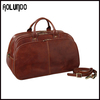 High Quality Real Men Leather Travel Bag