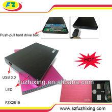 "Portable Hard Disk Metal Case 2.5"" Enclosure USB 3.0 to SATA"