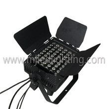Hot Selling DMX512 led par with barn door lights led studio light