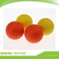 2014 Soft foam yellow practice golf balls