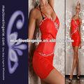 preço de fábrica red alcinhas sexy hot clube de noite desgaste bodysuits vestido de couro