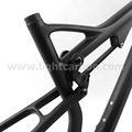 Lightcarbon mtb doble suspension de carbono de bicicletas de montaña marco 29er con bb30/bsa ds069 sistema