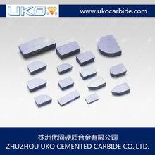 Tungsten carbide tips for Alternate Top Bevel ( ATB ) Saws