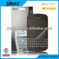 Protector de pantalla del teléfono celular para blackberry q10 oem/odm( de alta claro)