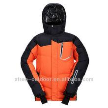 Fahion high quality windproof ski jacket with fur hood
