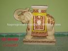 Vietnam ceramic animal stand, ceramic elephant stand