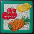 promozionali riciclato carta puzzle magnetico per adulti