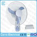 venda quente 16 polegadas 12v ventilador da cc solar 16 ventilador de parede polegadas