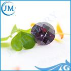 synthetic(lab created)round amethyst gemstone