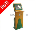 Interactive Touchscreen Mobile Phone Bill Payment Kiosk With Coin Acceptor, Trackball