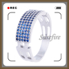 Fashion cz 925 silver jewelry 925 sterling silver jewelry wholesale