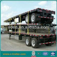 2 axle flatbed semi trailer , flatbed semi trailer frame